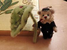 Japanese Miniature Artist Bear by Tomoko Suenaga, Ladybug 4.5cms.