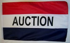Auction Flag 3' X 5' Indoor Outdoor Business Banner