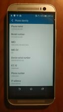 HTC One M8 - 32GB - Gunmetal Gray (Verizon) Smartphone - Used - Works