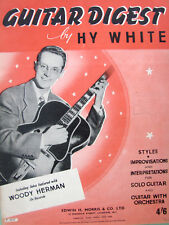 GUITAR DIGEST BY HY WHITE  WITH WOODY HERMAN 9 TITRES