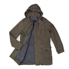 TOMMY HILFIGER Herren Jacke M/L 52 braun Parka Men Jacket Cardigan Mantel