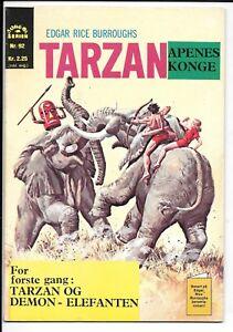 Williams Forlag, Italian Tarzan Nr. 92 (1970-71)  in FN or Better