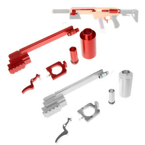 Worker Mod Prime Bridge Chamber Kit Red Red Silver for AF Nexus Pro Blaster Toy