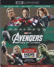 AVENGERS AGE OF ULTRON 4K ULTRA HD & BLURAY & DIGITAL SET with Robert Downey Jr.