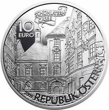 Österreich 10 Euro 2009 Basilisk Silbermünze Sagen und Legenden Polierte Platte
