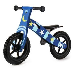 Nicko NIC859 Space Star Children's Kid's Wooden Balance Bike Blue 2 - 5 Years