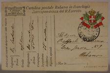 POSTA MILITARE 58^ DIVISIONE 15.2.1917 #XP308C