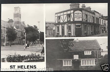 Lancashire Postcard - Views of St Helens, Prince of Wales Pub C603