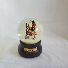Traditional Santa Snow Globe Santa Clause is Coming to Town 2014