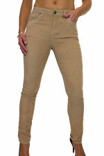 Corduroy Mid Rise Regular Size Jeans for Women