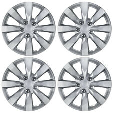 "4-Pack 16"" Hub Caps Silver ABS 2014 Toyota Corolla Replica Wheel Rim Covers"