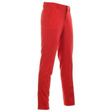 "Nike Flex Core Slim Fit golf trousers - 32""x34"" in University Red. RRP £60"