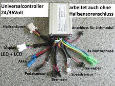 """24V-15 Amp.Controller m.24V LED-Display  """"Der Alleskönner"""" big Funktionsspektrum"""