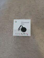 Google Chromecast Ultra 4K Digital HD Media Streamer - Black