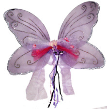 Hand Crafted Dress-Up Costume Butterfly Fairy Wings - Purple Wings Large NEW!