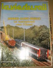 La vie du rail N°2009 1985 Chemin de fer Train Rennes Saint Brieuc Paris Pékin