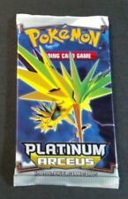 Pokemon PLATINUM ARCEUS Booster Pack Factory SEALED