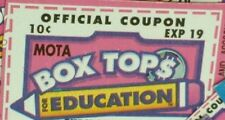 15 BTFE Box Tops For Education *Fast Ship* Great Dates 2019 and later.