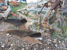 ransomes TS64 plough  with  skims scn mould boards and depth  wheel