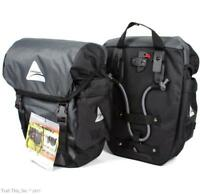 Axiom Seymour DLX 20 Touring Bicycle Panniers Pair Rear Commuter Bags Saddlebags