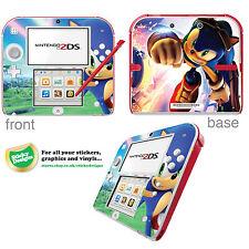 SONIC THE HEDGEHOG carcasa de vinilo adhesivo para Nintendo 2ds