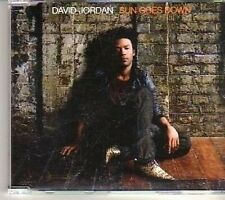 (CT865) David Jordan, Sun Goes Down - 2007 DJ CD