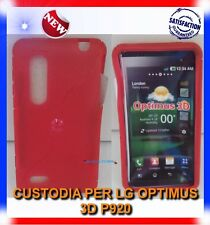 Pellicola+Custodia EYE/ROSSA per LG OPTIMUS 3D P920