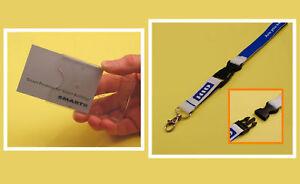 Single Card Kit: Card Holder & HID Identity Lanyard