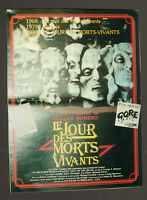 AFFICHE CINEMA : LE JOUR DES MORTS VIVANTS 1986