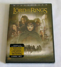 The Lord of the Rings: The Fellowship of the Ring (DVD, 2002, 2-Disc Set WS)