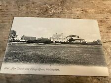 More details for postcard. new church and village green, woldingham.  ref699