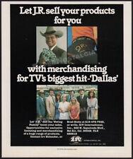 DALLAS__Orig. 1981 Trade Print AD / ADVERT__Larry Hagman_Patrick Duffy_TV series