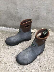 Size 13 Bogs Workman Mid Composite Toe Work Boot - Men's trugreen weatherproof