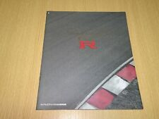 RARE JDM 1998 NISSAN GT-R R33 brochure catalogue from Japan