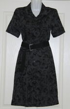 Womens size 8 grey & black short cargo dress made by JACQUI-E