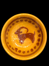 Rare Ancient Islamic Near Eastern Byzantine Period Glazed Terracotta Bowl (1)