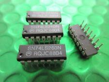 SN74LS260N MOTOROLA IC **3 PER SALE** $0.95ea