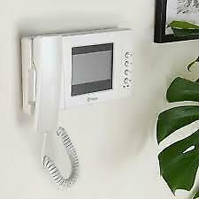Blyss Wired - 2 wires Video intercom system Silver & white RRP £120