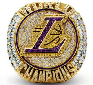 New 2020 Los Angeles Lakers NBA Championship Ring - Official James Ring Replica