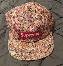 SUPREME Box SS13 Liberty Fabric Paint Splatter Multi-color 5-Panel Cap Hat