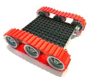 Lego Technic Kettenfahrzeug Raupenfahrzeug Kette Gummi Raupen Bagger 32007