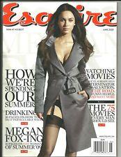 ESQUIRE Magazine June 2009 Megan Fox cover and pictorial
