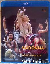 Madonna The Re-invention Tour 2004 + Bonus Blu-ray Disc Subtitles