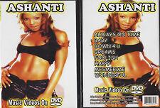 Ashanti Foolish Happy Baby Greatest Hits Music Videos New & Sealed Promo DVD