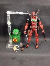 Marvel Legends Deadpool & Doop 6 Inch Action Figure Toy Biz Series VI custom