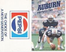 1985 AUBURN TIGERS FOOTBALL SCHEDULE - BO JACKSON - FREE SHIPPING!