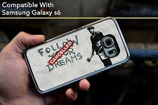 Banksy Dreams Cancelled Hard Case Fits Samsung Galaxy S6