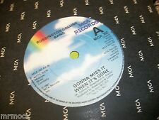 "ROSSINGTON COLLINS BAND- GONNA MISS IT WHEN ITS GONE VINYL 7"" 45RPM co"