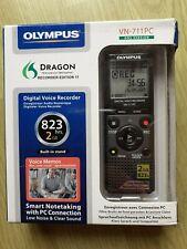 Olympus VN-711PC Grabadora Digital De Voz Dictáfono USB 2 Gb-Nuevo Y En Caja