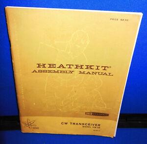 Heathkit Manual Choice HW-16 HW-2036A HWA-2036-3 HA-202 HWA-202-1 HD-1984 HN-31